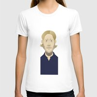 brad pitt T-shirts featuring Brad Pitt (World War Z) by Bady Church