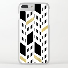 Chevron Clear iPhone Case
