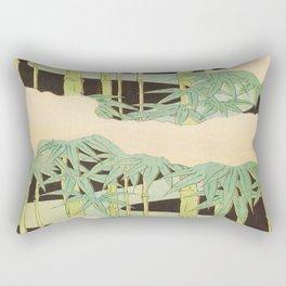 Shin-Bijutsukai – Japanese Design Bamboo At Night Rectangular Pillow