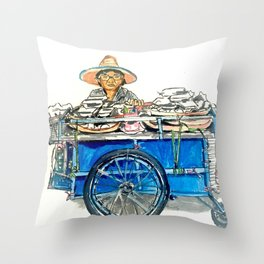 Bangkok Throw Pillow