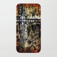 bathroom iPhone & iPod Cases featuring Bathroom Linoleum by christopher justin gilner photographic