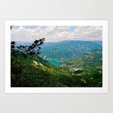 Herzegovina, Konjic 2011 (zoom) Art Print