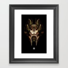 Xenos - Visionary Framed Art Print