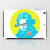 beethoven iPad Cases featuring Ludwig van Beethoven 15 by Marko Köppe