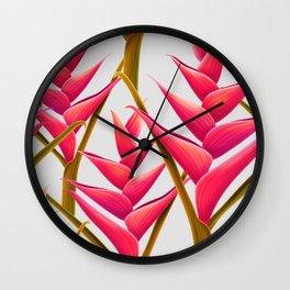 flowers fantasia Wall Clock