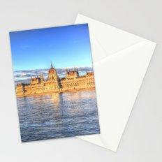 Budapest River Danube Sunset Stationery Cards