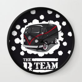 The B Team Wall Clock