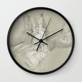 Nostromo Refinery Wall Clock