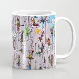 Bubble climbing Coffee Mug