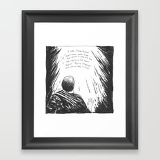 Emmanuel (Advent 2015, Part 1/7) Framed Art Print