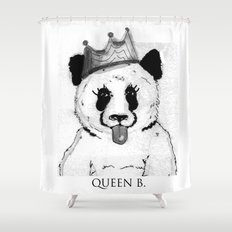 Queen B Shower Curtain