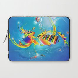 sprit of the music  Laptop Sleeve