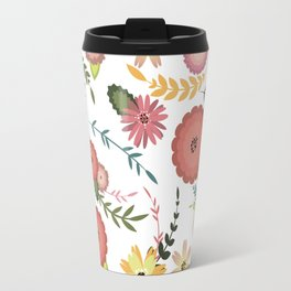 Floral Pattern1 Travel Mug