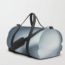 Monochromatic Ink Flow Duffle Bag