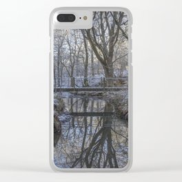 Reflections in the Stream Clear iPhone Case