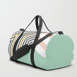 Mint&Gold Room #society6 #decor #buyart Duffle Bag
