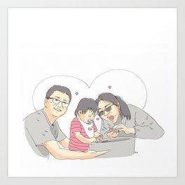 TeQi Art Print