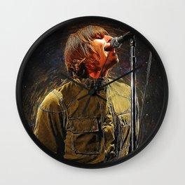 Liam Gallagher Wall Clock