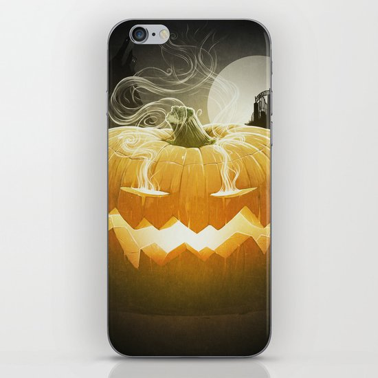 Pumpkin I. iPhone & iPod Skin