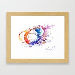Spheres.2 Framed Art Print
