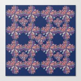 Flow Pattern Canvas Print