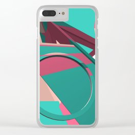 80ies music Clear iPhone Case