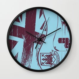 Precision Bass Guitar - Steve H. Wall Clock