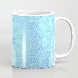 Mandala blue Coffee Mug