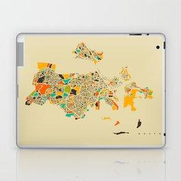 Boston map Laptop & iPad Skin
