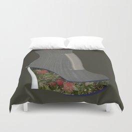 SF Flower Wedge Duvet Cover