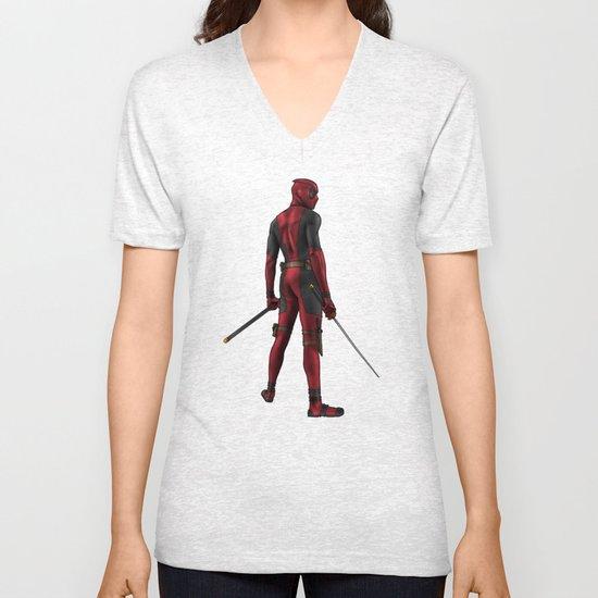 Deadpool Unisex V-Neck