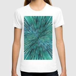 Planet Pixel Ocean Rush T-shirt