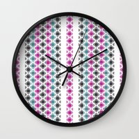kilim Wall Clocks featuring Kilim by 603 Creative Studio