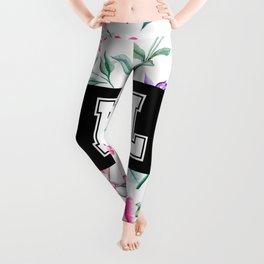 LOL - floral print Leggings