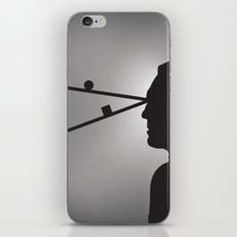 The Prisoner is Being Tested iPhone Skin