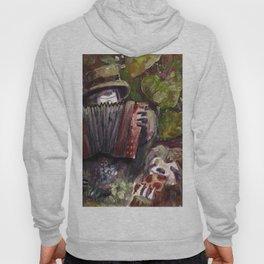 accordion sloth Hoody