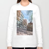 vancouver Long Sleeve T-shirts featuring Downtown Vancouver  by Jody_Waardenburg