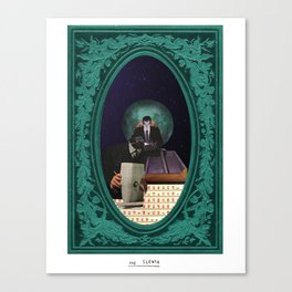 The Sleuth Canvas Print