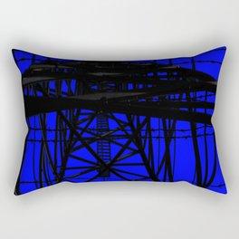 Barb wire 1 Rectangular Pillow