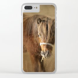 Wanna Be Friends? Clear iPhone Case