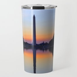 Washington Monument and Reflection Pool Travel Mug