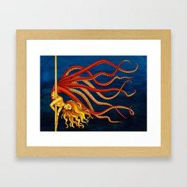 Pole Creatures - Mermaid Framed Art Print