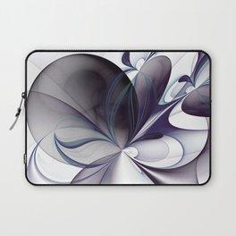 Easiness, Abstract Modern Fractal Art Laptop Sleeve