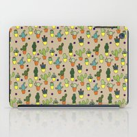 cacti iPad Cases featuring Cacti by Alisse Ferrari