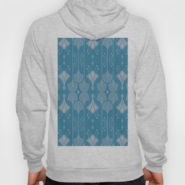 Art Deco Botanical Shapes Hoody