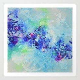 Mood indigo Art Print