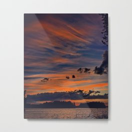 Autumn evenings Metal Print