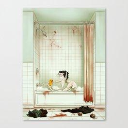 Bubble Bath Canvas Print