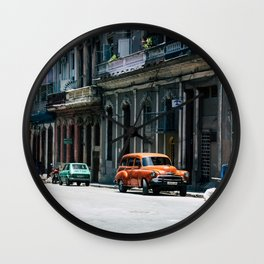 Casa Cubana Wall Clock