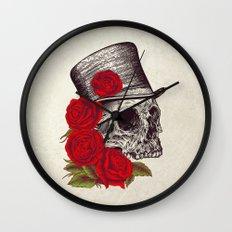 Dead Gentleman Wall Clock